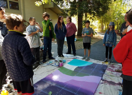Mt. Shasta Middle School Design Leaders